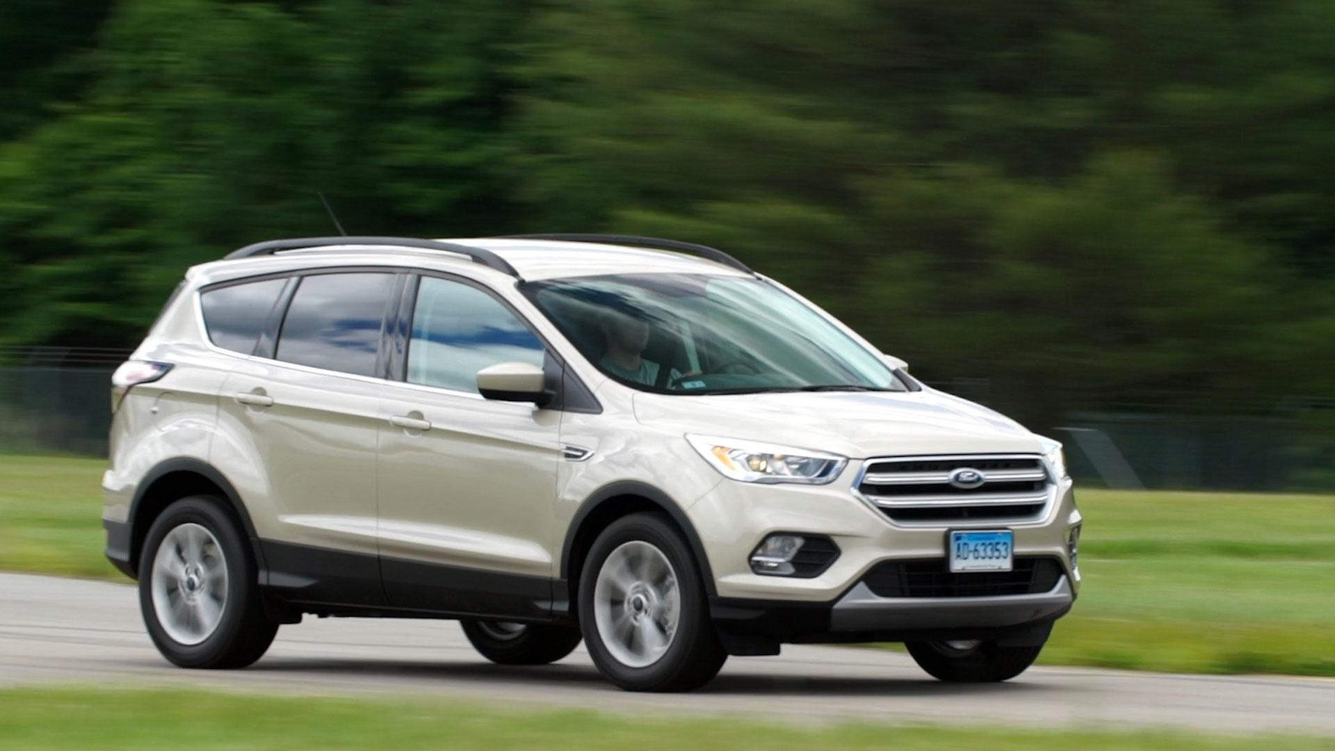 2017 ford escape maintains athletic appeal for a small suv. Black Bedroom Furniture Sets. Home Design Ideas