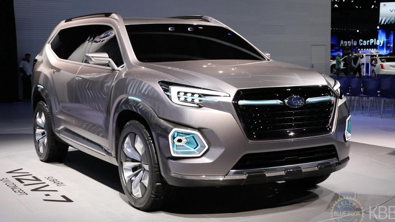 Subaru Viziv 7 Concept New Midsize Suv For 2018 Kelley