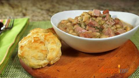 Ham leftovers recipes allrecipes pantry ham and beans forumfinder Images