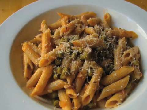 Penne pasta with peas and prosciutto recipe allrecipes forumfinder Images