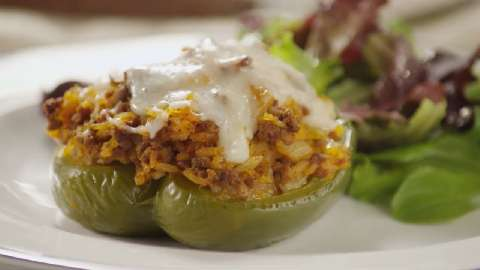 Kelseys favorite stuffed green peppers recipe allrecipes forumfinder Images