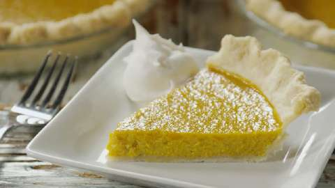 Homemade Fresh Pumpkin Pie Video Allrecipes Com