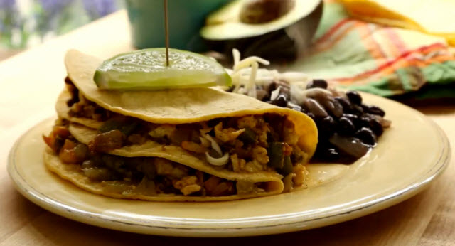 Authentic Mexican Breakfast Tacos Recipe