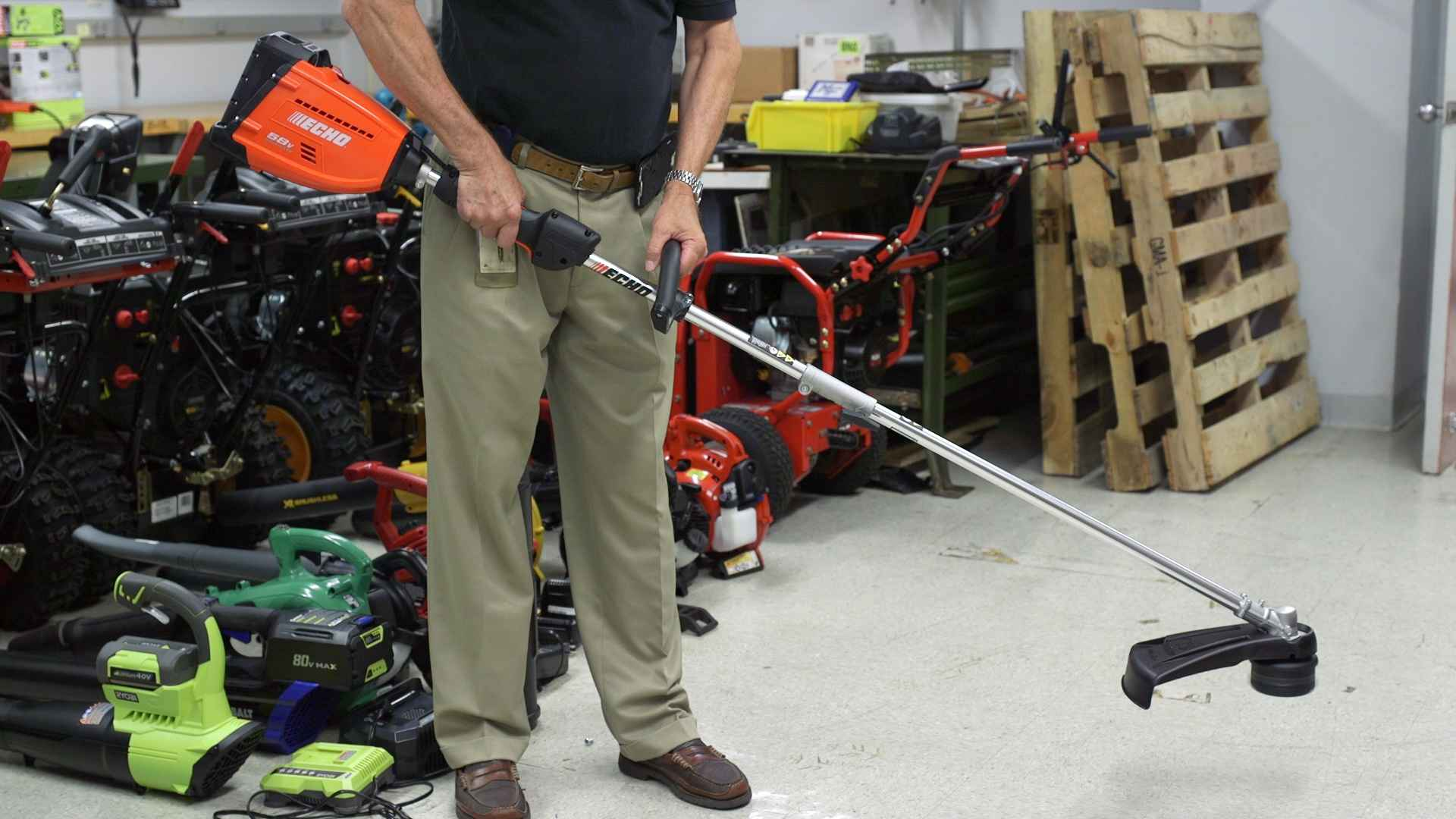 Echo Cordless Trimmer Can Be Tricky To Start