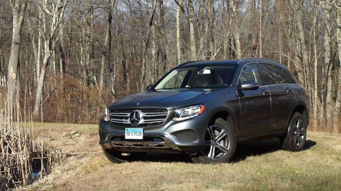 polished mercedes-benz glc300 suv makes strong impression