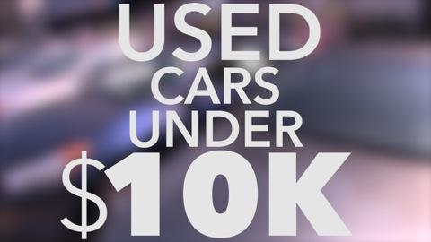 10 Best Used Cars Under 10K