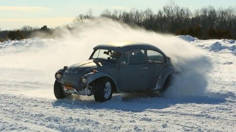Consumer Reports + Jalopnik = Test Track Snow Day