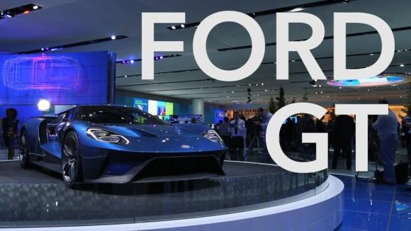 Ford GT Looks Mean, Aggressive