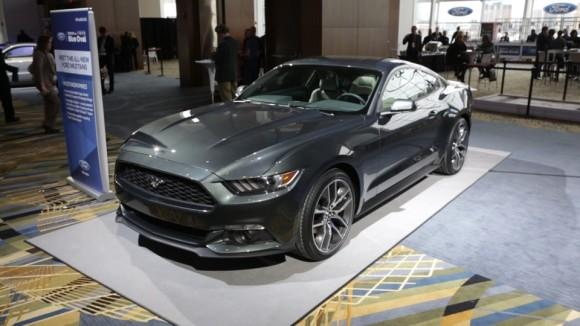 2015 Ford Mustang at the Detroit Auto Show
