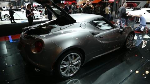 2015 Alfa Romeo 4C Preview