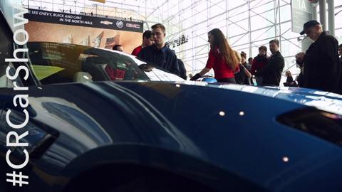 Visit Consumer Reports at the New York Auto Show