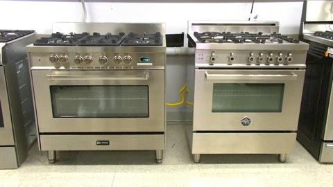 italian prostyle ranges stainless steals