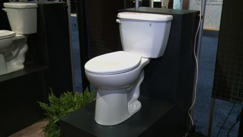 Space-saving Gerber Viper toilet