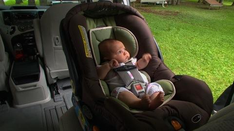 Installing infant car seats