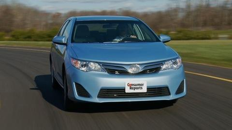 Toyota Camry 2012-2014 Road Test