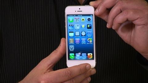 Apple iPhone 5 first look