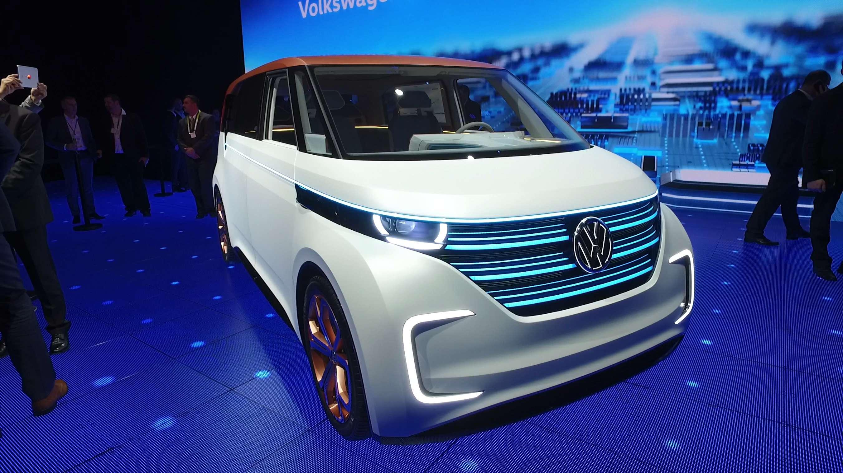 VW Unveils Electric Bus After Diesel Scandal