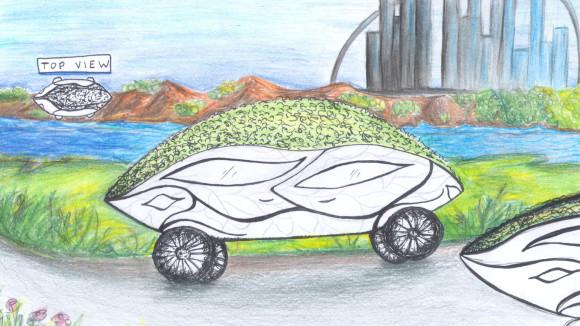 Kids Envision Fuel-Efficient Cars of the Future