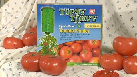 Topsy Turvy Upside Down Tomato Planters review