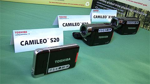 Toshiba HD Pocket Camcorders