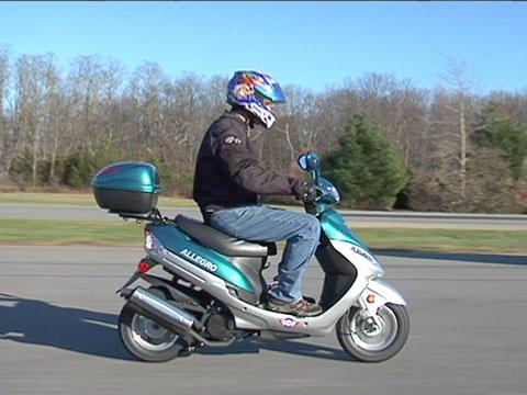 Scooters & entry-level motorcycles