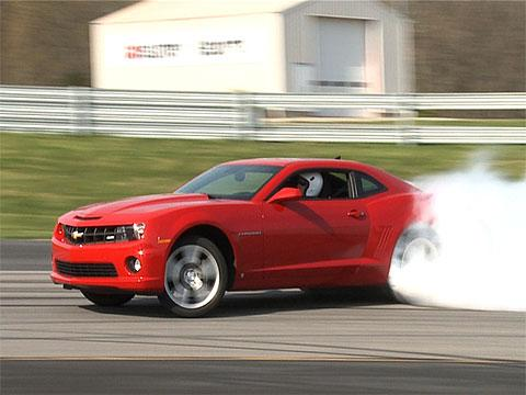 Muscle car face-off