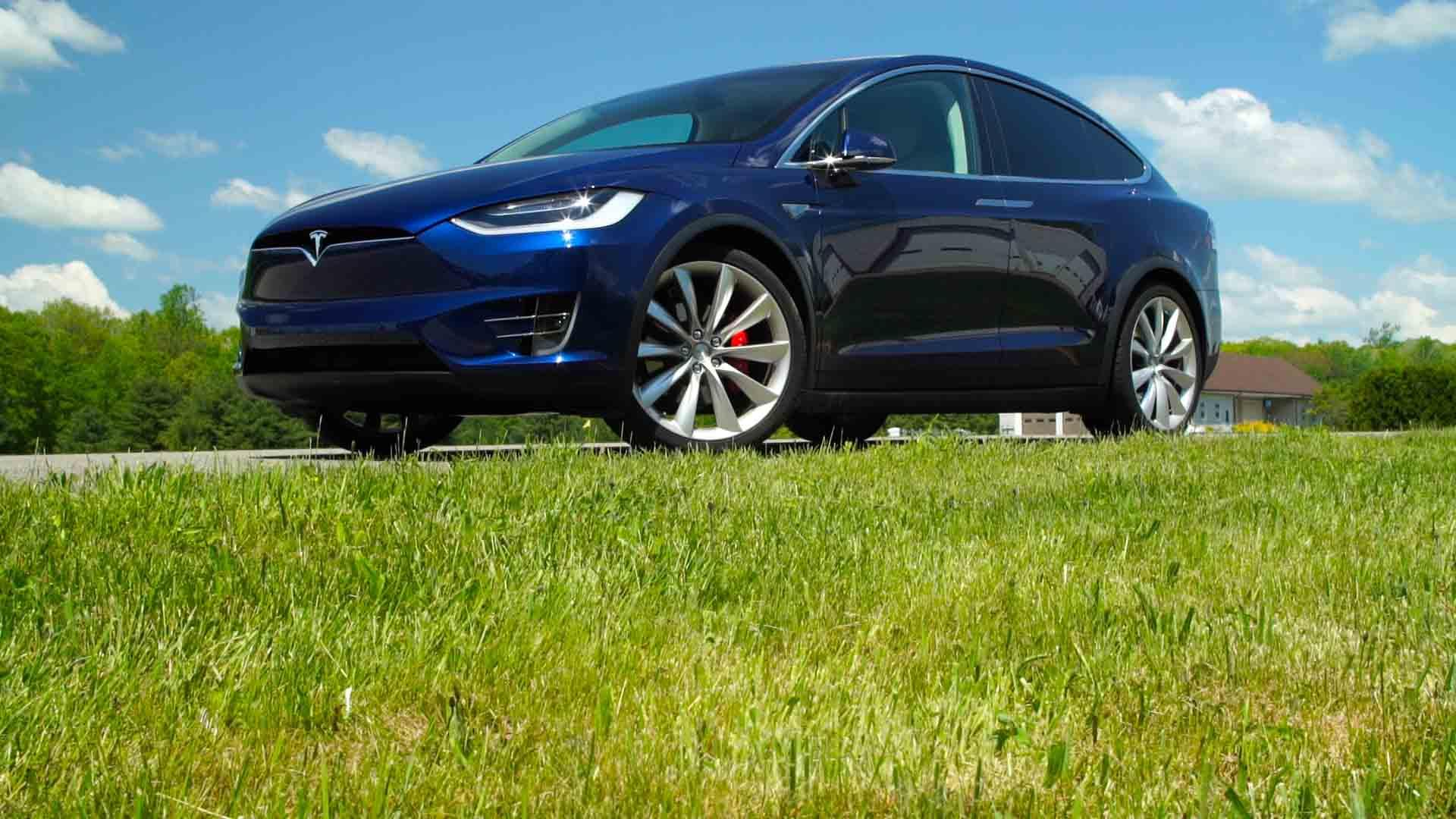 Tesla Model X First Drive Electric Suv Consumer Reports