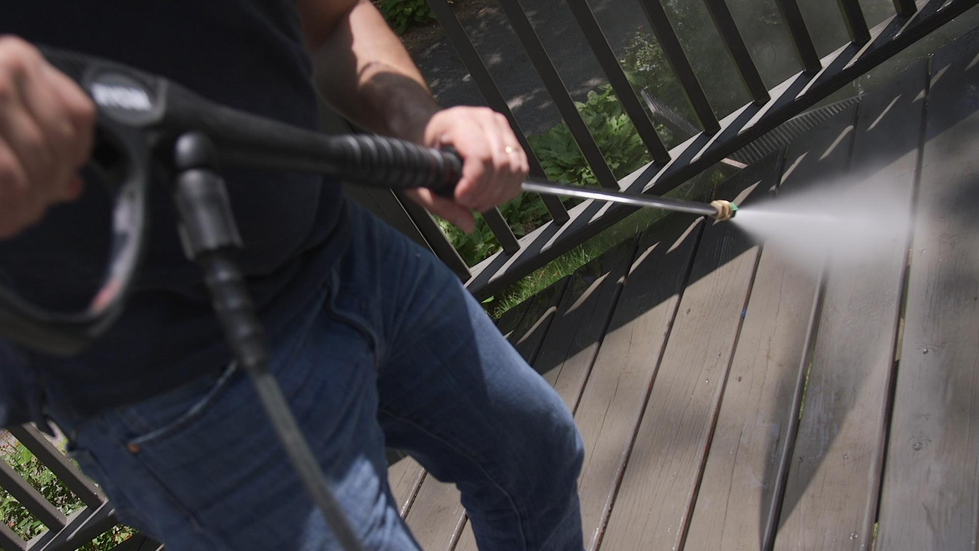 surfaces safe to clean with pressure washer - consumer reports