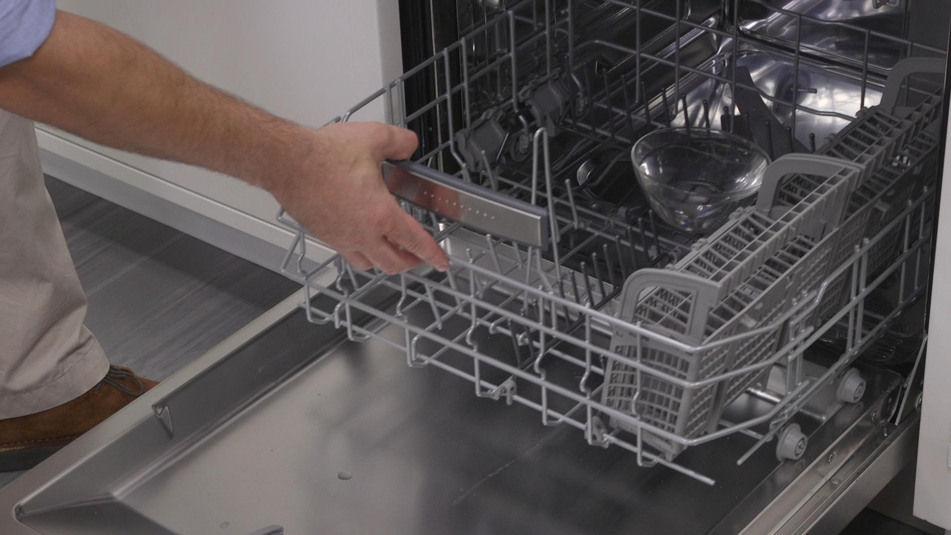 How To Quiet A Dishwasher Why Your Dishwasher Filter Makes A Difference Consumer Reports