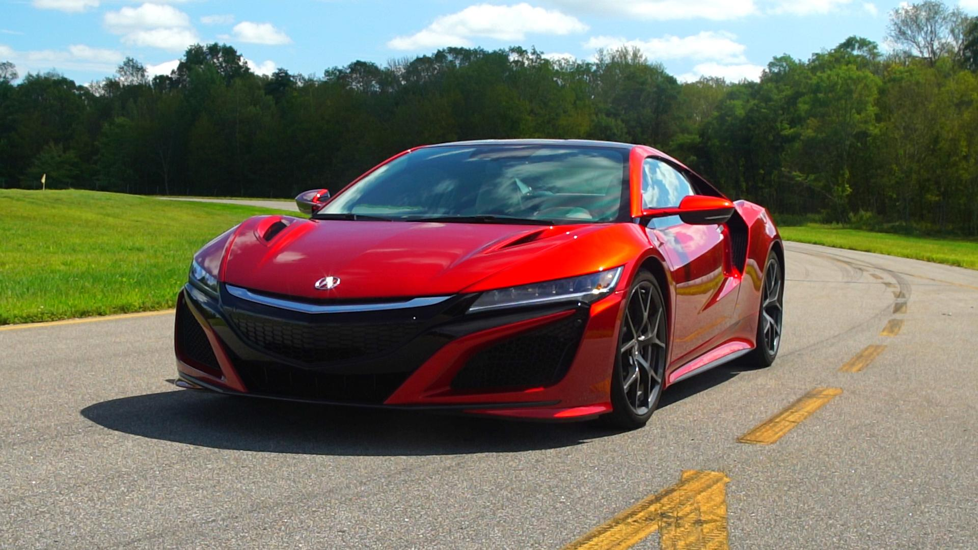 Acura Nsx Hybrid Is The Friendly Supercar Consumer Reports