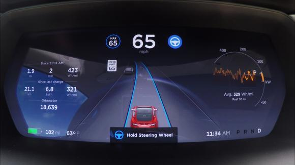 New Tesla Autopilot: Better But Needs Improvement