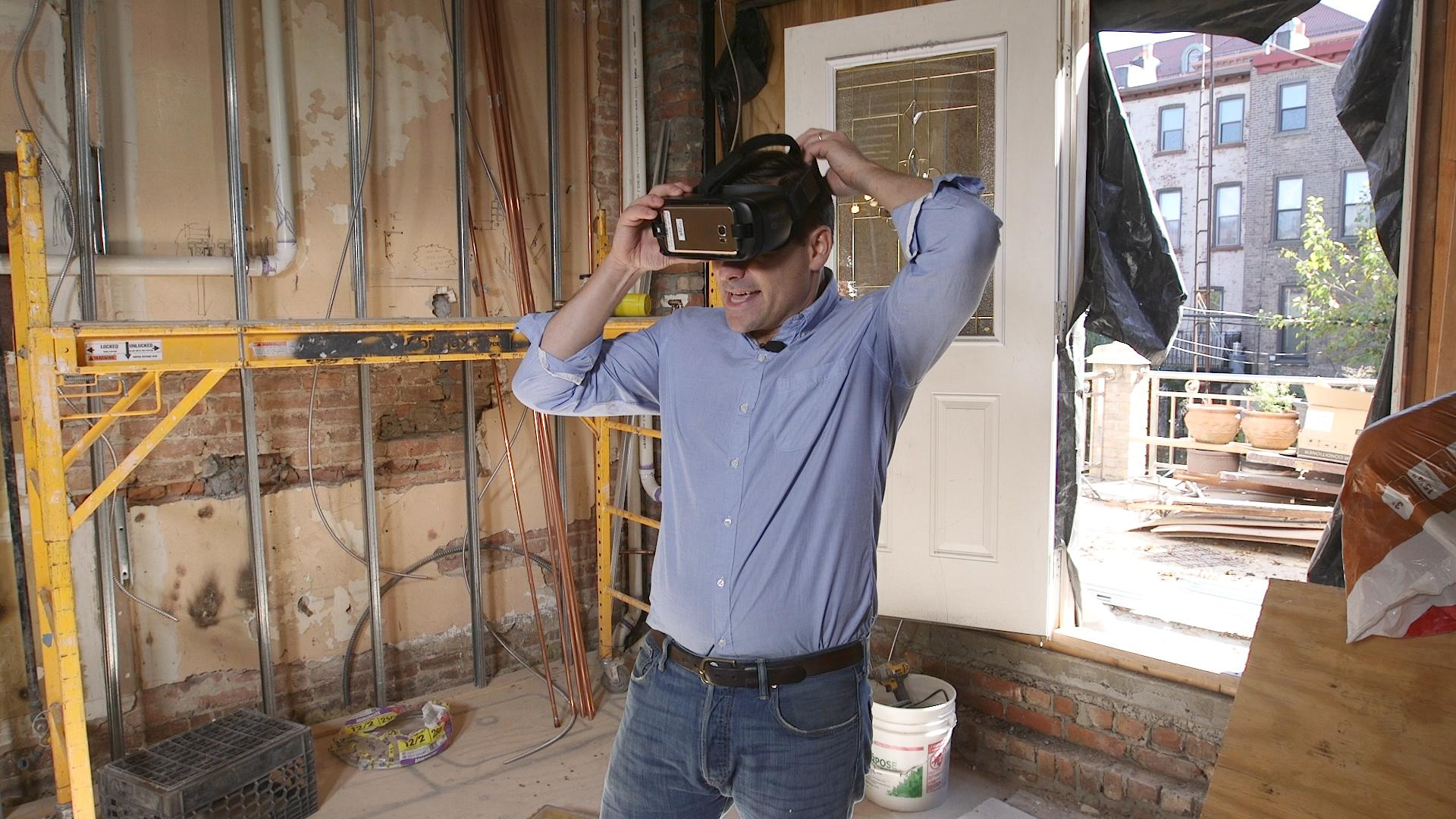 use virtual reality to visualize your home renovation