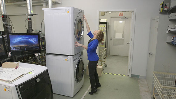 Dryer Too Tall? Kenmore Control Panel Can Move