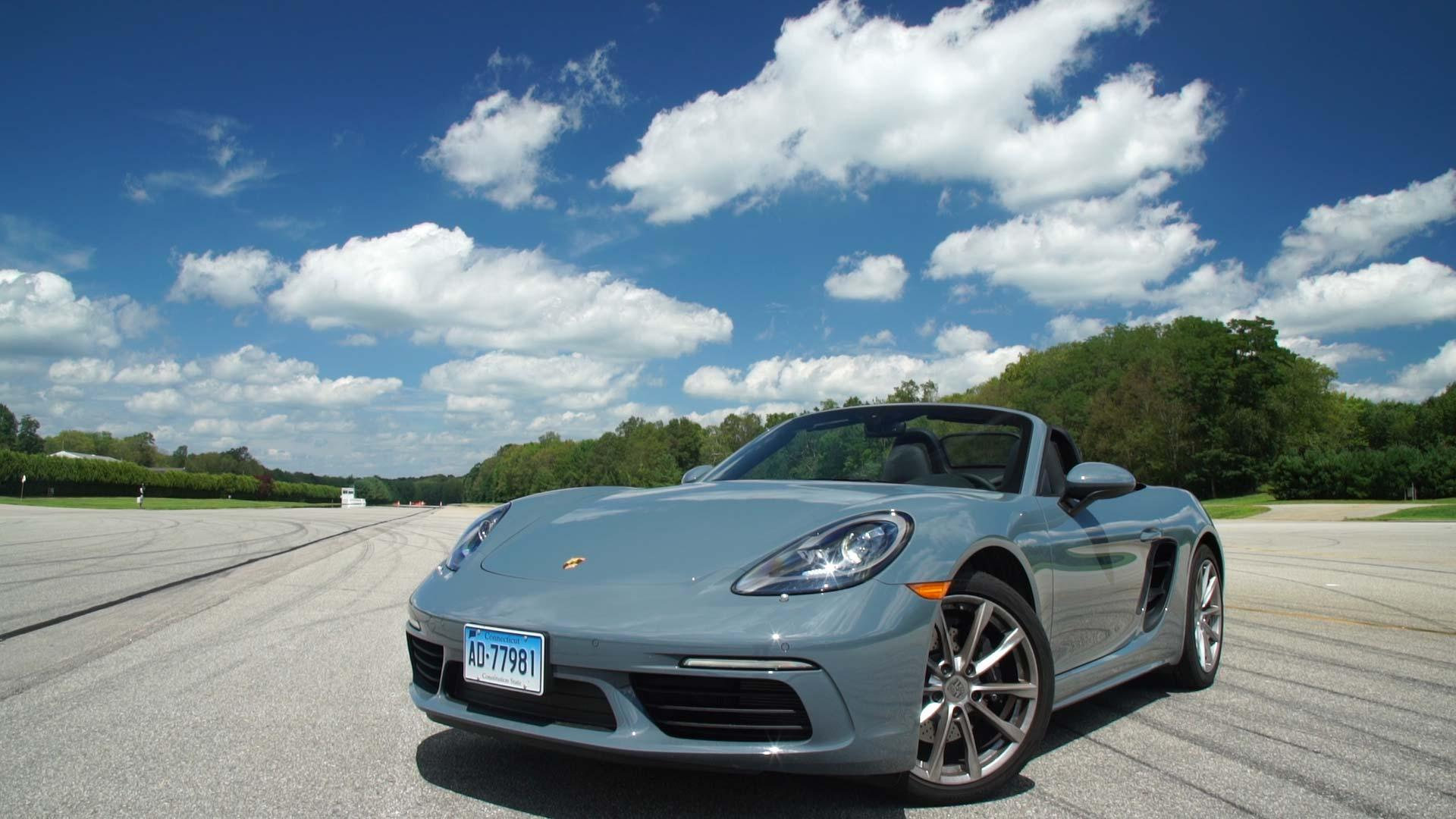 2017 porsche 718 boxster review turbo boosted brilliance
