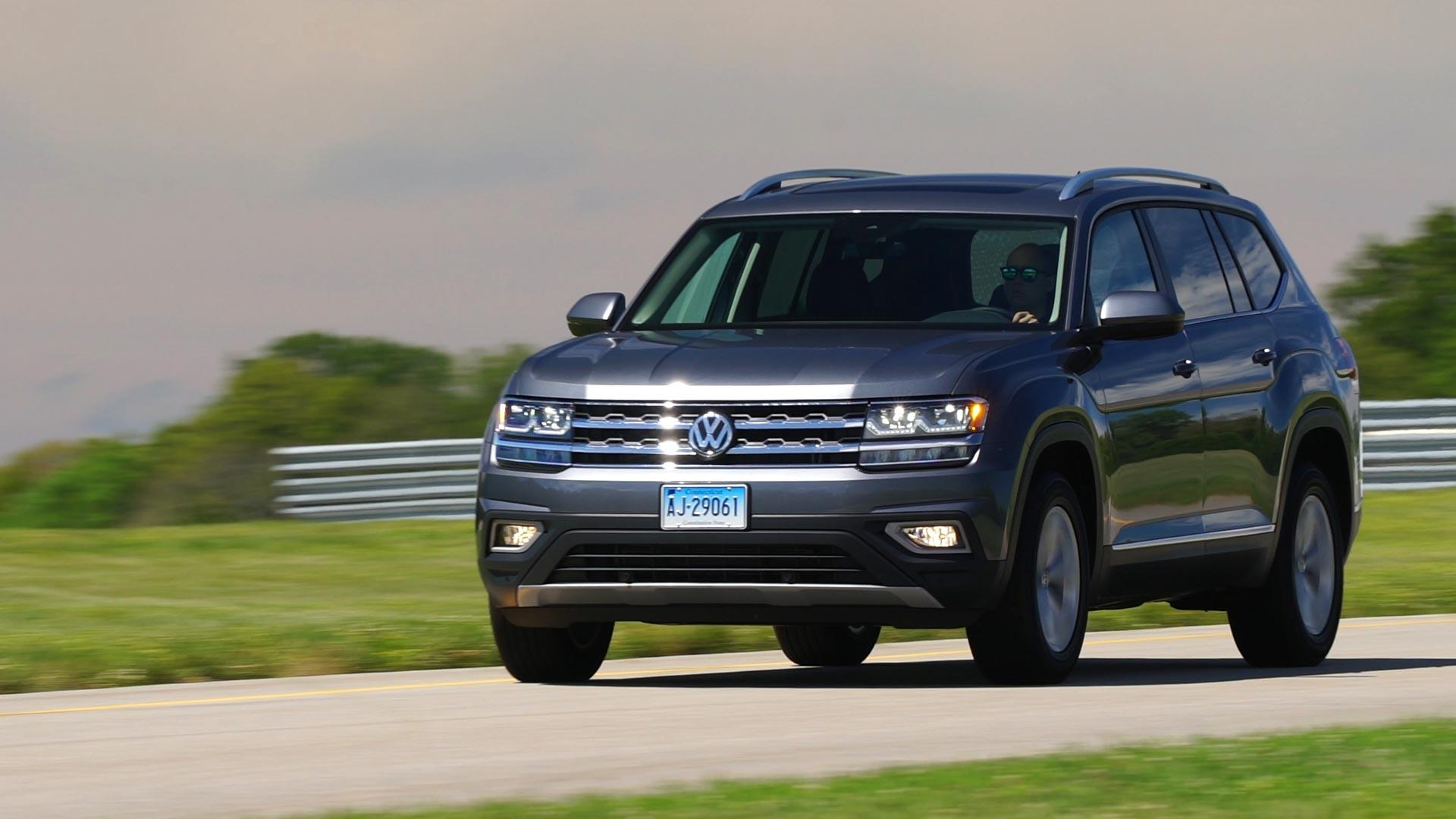 Volkswagen atlas gets more than shrugs on talking cars with consumer reports