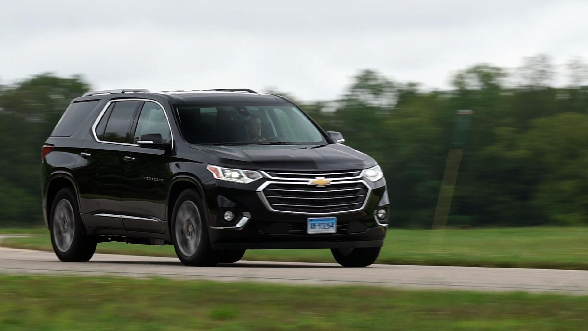 all new 2018 chevrolet traverse impresses at the cr track and on the road