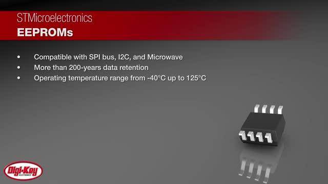 STMicroelectronics Serial EEPROMS | Digi-Key Daily
