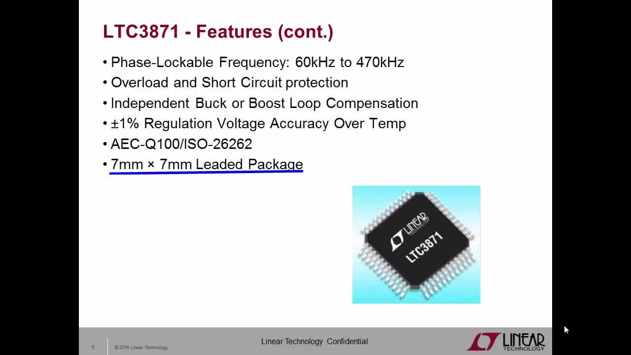 Buck Boost Dcdc Handles Wide Input Voltage Range Digikey Connect Circuit Is Functionally Identical To A Dump Load Ltc3871 Bidirectional Multi Phase Synchronous Or Controller