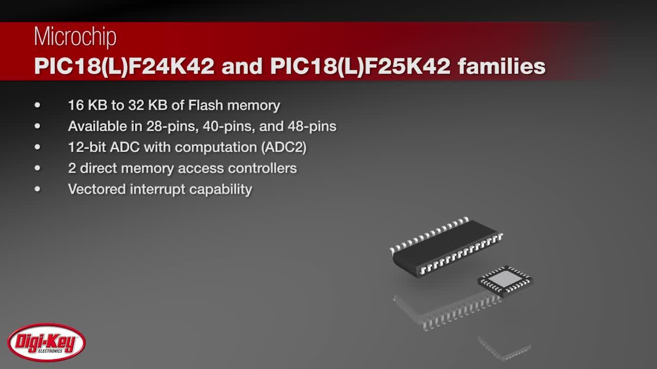 Pic18lf2x Series Microchip Technology Digikey Parallel Port Pic Programmer For Pic18f2550 Pic18f K42 Family Digi Key Daily