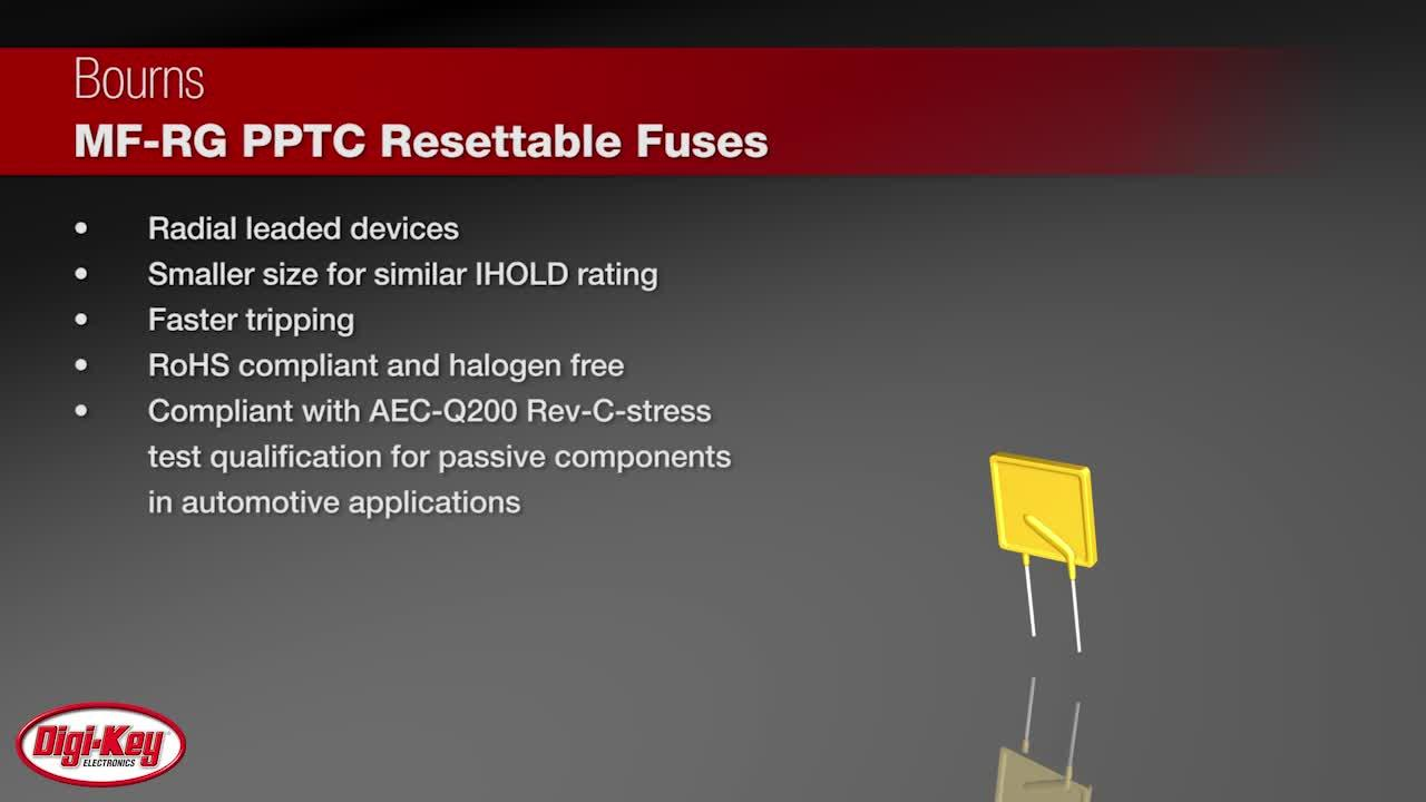 Protecting Usb From Power Surges Digikey Offer Overcurrent Protection Content Electronic Design Bourns Mf Rg Pptc Resettable Fuses Digi Key Daily