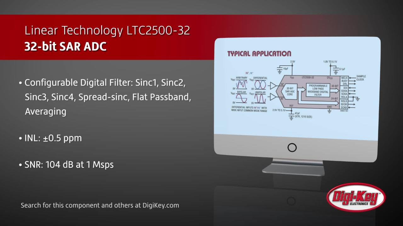 Linear Technology LTC2500-32 | Digi-Key Daily