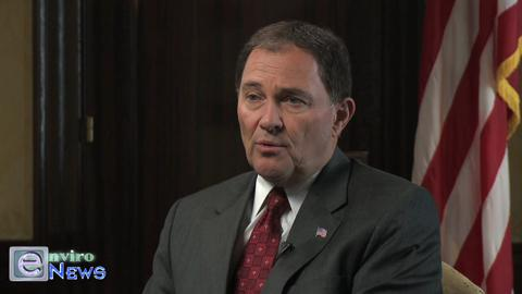 Governor Gary Herbert Claims Air Quality is Subservient to Economy and That the Air is Getting Better