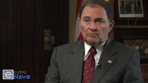 Governor Gary Herbert Talks About Seatbelts, the Clean Air Challenge, and Just Driving Less