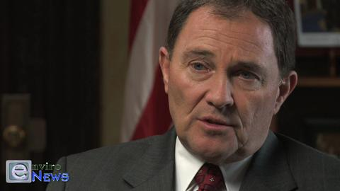 """Monica Bellenger and Governor Gary Herbert Discuss a """"Carrot and Stick Approach"""" of Incentivizing Citizens for Good Air Quality Behavior"""