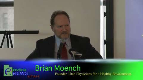 Dr Brian Moench Discusses How Air Pollution Degrades Human Genes and Effects Children at the Rio Tinto/Kennecott Lawsuit Press Conference