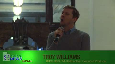 "Troy Williams of KRCL's ""Radioactive"" Rebukes the Eagle Forum and the Utah State Senate for Failing to Pass LGBT Anti-Discrimination Law S.B. 51"