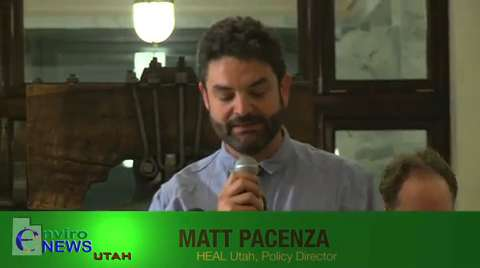 Matt Pacenza of HEAL Utah Speaks on Dangerous New Bill That Dismantles Utah's Citizen-Based Environmental Review Boards