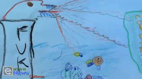 "Kindergarten Fukushima Science Project Says it All: ""Now tuna fish in California have cesium. YUK!"""
