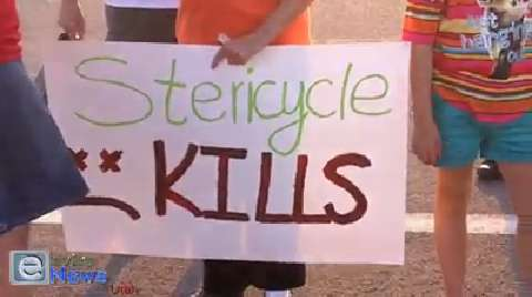 Stericycle Protestors Persist as Erin Brockovich Signs on to the Cause