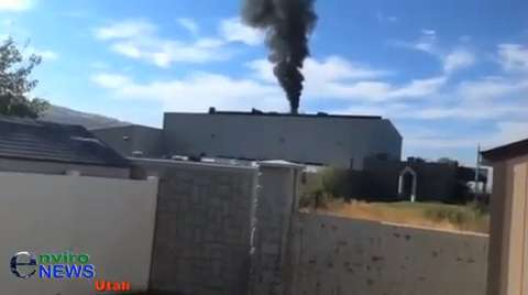 Stericycle Bombs Wasatch Airshed With Massive Black Emergency Bypass for Second Time in a Week